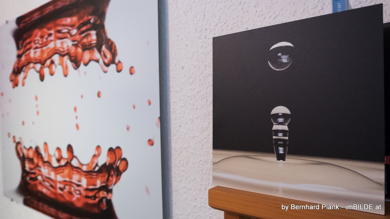 wanddeko fotos auf aluminium aludipond und acrylglas. Black Bedroom Furniture Sets. Home Design Ideas